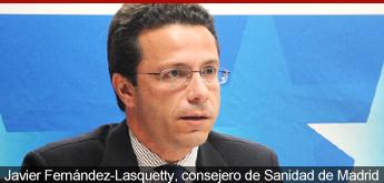 Javier Fernández Lasquetty, consejero de Sanidad de la Comunidad de Madrid