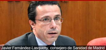 Javier Fernández-Lasquetty, consejero de Sanidad de Madrid