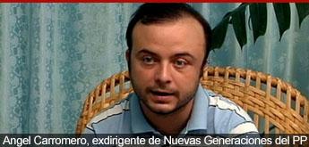 Angel Carromero, vicepresidente de NNGG del PP