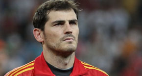 Iker Casillas, portero de fútbol