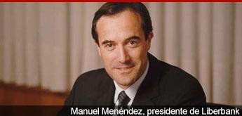 Manuel Menéndez, presidente de Liberbank