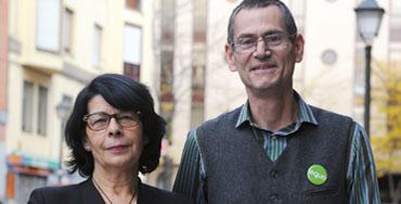 Inés Sabanés y Ramón Linaza, coportavoces de Equo Madrid