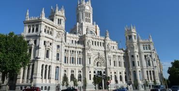 Sede del Ayuntamiento de Madrid. Palacio de Correos en la Plaza de Cibeles - Foto: Raúl Fernández