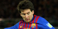 Leo Messi, futbolista del FC Barcelona