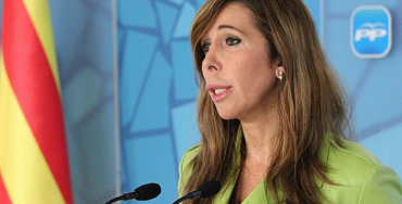 Alicia Sánchez-Camacho, presidenta del PP de Cataluña