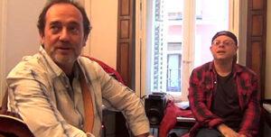 Joaquín Chacón y Mariano Díaz
