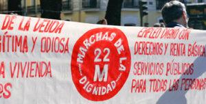 Manifestación de las Marchas por la Dignidad