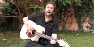 Angel Petisme, poeta, cantante y compositor aragonés
