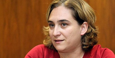 Ada Colau, portavoz de Guanyem Barcelona