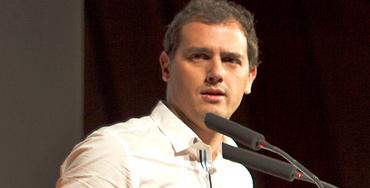 Albert Rivera, líder de Ciudadanos