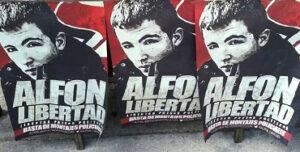 Carteles por la libertad de Alfon