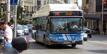 Autobús de la EMT - Foto: Raúl Fernández
