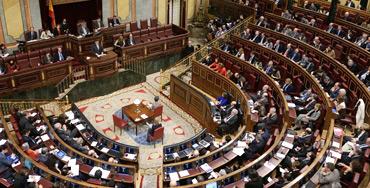 Hemiciclo del Congreso de los Diputados de Madrid