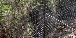 Valla cinegética en el Parque Nacional de Cabañeros - Foto: Ecologistas en Accion
