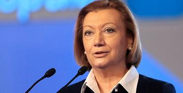 Luisa Fernanda Rudi, presidenta de la Diputación General de Aragón