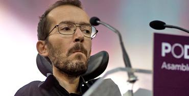 Pablo Echenique, representante de Podemos
