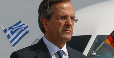 Antonis Samaras, primer ministro de Grecia