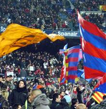 Afición del F.C. Barcelona