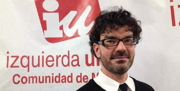 Eddy Sánchez, ex coordinador general de IU de Madrid