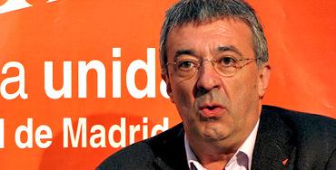 Gregorio Gordo, portavoz de IU en la Comunidad de Madrid