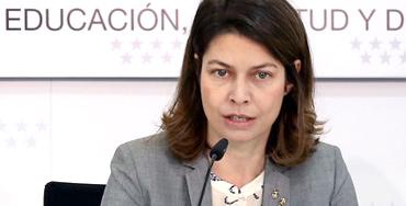 Lucía Figar, consejera de Educación de la Comunidad de Madrid