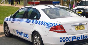 Coche de policía de Sidney