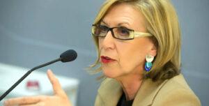Rosa Diez, líder de UPyD
