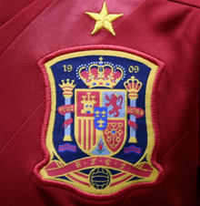 Escudo de la Selección Española de fútbol