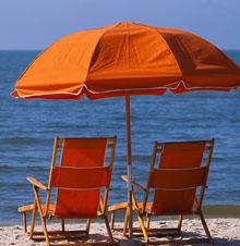 Sombrilla playa