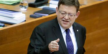 Ximo Puig, secretario general de los socialistas valencianos