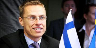 Alex Stubb, primer ministro de Finlandia