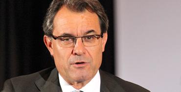Artur Mas, presidente de la Generalitat de Cataluña