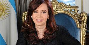Cristina F. de Kirchner, presidenta de Argentina