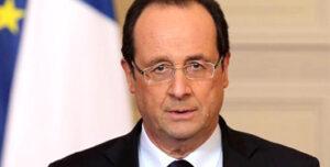 François Hollande, jefe de Estado de Francia