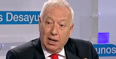 José Manuel García-Margallo, ministro de Asuntos Exteriores y Cooperación
