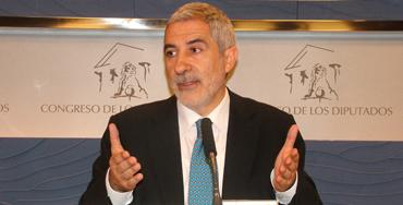 Gaspar Llamazares, candidato de IU al Principado de Asturias