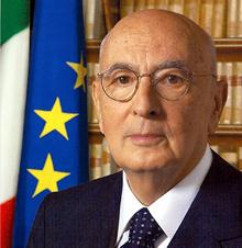 Giorgio Napolitano, presidente de Italia