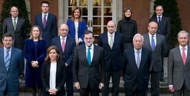 Foto oficial de los miembros del Gobierno