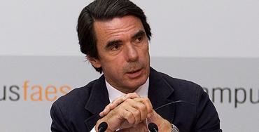 José María Aznar, expreidente del Gobierno