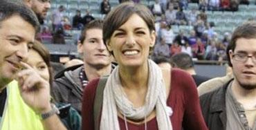 Lola Sánchez, representante de Podemos
