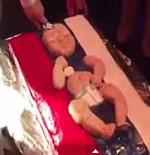 Tarta de bebé ruso