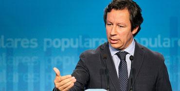 Carlos Floriano, vicesecretario de Organización y director de campaña electoral del PP