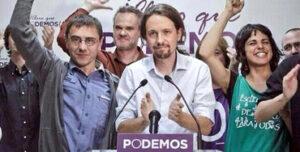 Integrantes de Podemos