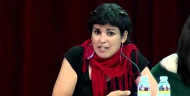 Teresa Rodríguez, candidata de Podemos a la presidencia de la Junta de Andalucía