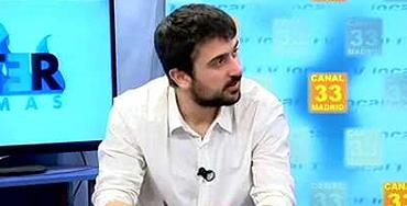 Ramón Espinar, portavoz de Juventud sin futuro