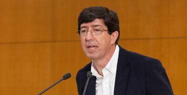 Juan marín, presidente de Ciudadanos en Andalucía