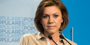 María Dolores de Cospedal, presidenta de Castilla-La Mancha
