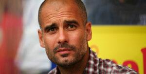 Pep Guardiola, exfutbolista del Barcelona