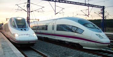 Trenes del AVE