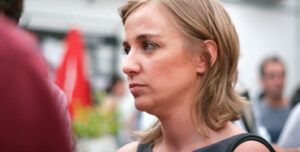Tania Sanchez, candidata de Podemos por Madrid - foto: Jaime Pozas